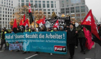 FAU-Demonstration am 6. Dezember 2014