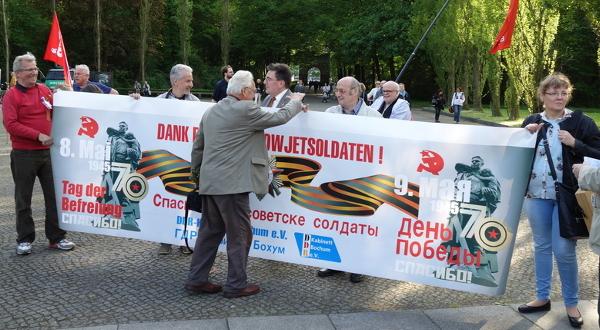 Kundgebung im Treptower Park